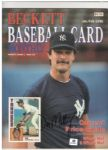 1986 BECKETT BASEBALL CARD MONTHLY SIGNED BY DON MATTINGLY