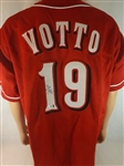 JOEY VOTTO SIGNED REDS JERSEY