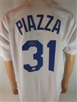 MIKE PIAZZA SIGNED L.A. DODGERS JERSEY