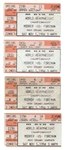 (4) MICHAEL MOORE VS. GEORGE FOREMAN HEAVYWEIGHT CHAMPIONSHIP FIGHT TICKET STUBS
