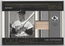 2004 TIMELINES CH-8 CARL YASTRZEMSKI GAME USED BAT