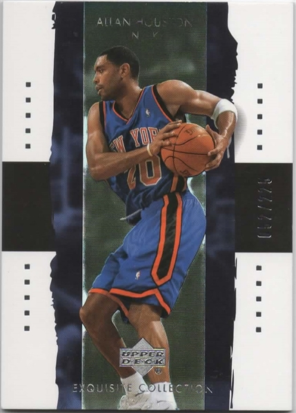2003-04 UD EXQUISITE COLLECTION #26 ALLAN HOUSTON /225