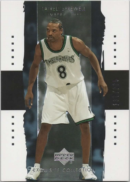 2003-04 UD EXQUISITE COLLECTION #22 LATRELL SPREWELL 137/225