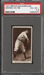 1912 T207 RECRUIT GEORGE WILTSE VG-EX+ PSA 4.5