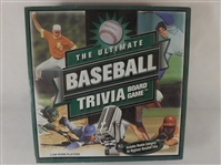 2001 THE ULTIMATE BASEBALL TRIVIA BOARD GAME COMPLETE