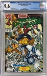 THE AMAZING SPIDER-MAN #360 WHITE PAGES CGC 9.6