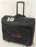 CHIPPER JONES ATLANTA BRAVES PERSONAL TRAVELING LUGGAGE GARMENT BAG