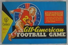 1962 VINTAGE CADACO ALL-AMERICAN FOOTBALL GAME