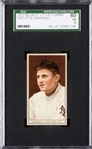 1912 T207 RECRUIT OTIS CRANDALL EX 5 SGC 60