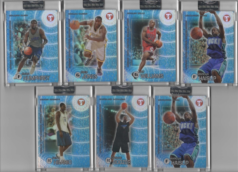 --2002-03 TOPPS PRISTINE FACTORY SEALED COMMON RC'S LOT OF 15 ALL #/1899