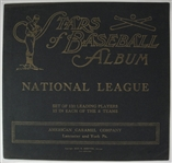 1922 E120 AMERICAN CARAMEL ORIGINAL NATIONAL LEAGUE UNUSED ALBUM