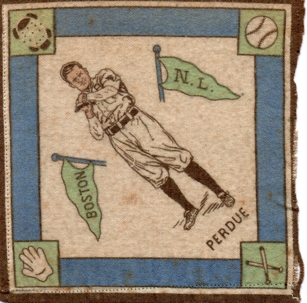 ---1914 B18 BLANKETS HUB PERDUE BOSTON BRAVES
