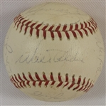 -1970 LA DODGERS TEAM SIGNED BASEBALL (18) SIGNATURES WITH HOFS & ALL-STARS