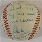 -DON SUTTON & FAMILY SIGNED RAWLINGS ALL-STAR BASEBALL