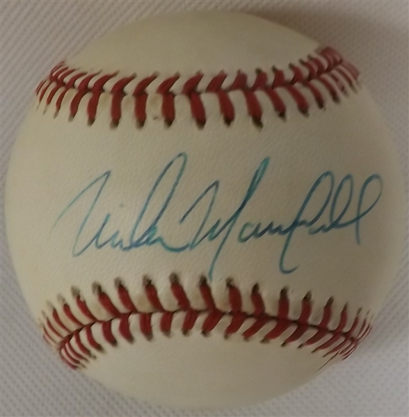 MIKE MARSHALL SIGNED ON SWEET SPOT ONL GIAMATTI BASEBALL