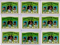 *1972 TOPPS #79 CARLTON FISK ROOKIE CARD LOT OF 15