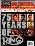 "RING MAGAZINE 75TH ANV. SIGNED ""MUHAMMAD ALI AKA CASSIUS CLAY"" & HOLYFIELD"