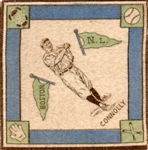 "--1914 B18 BLANKETS ""JOE CONNOLLY"" BOSTON BRAVES"