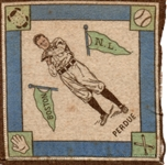"---1914 B18 BLANKETS ""HUB PERDUE"" BOSTON BRAVES"