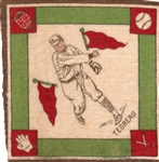 "---1914 B18 BLANKETS ""JEFF TESREAU"" N.Y.GIANTS"