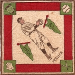 "--1914 B18 BLANKETS ""DANNY MOELLER""  WASHINGTON SENATORS"