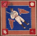 "---1914 B18 BLANKETS ""JIMMY WALSH"" N.Y. YANKEES"