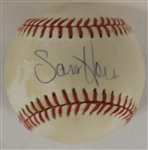 SAM HORN SIGNED SWEET SPOT OAL BOBBY BROWN BASEBALL