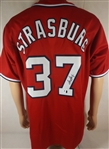 * STEPHEN STRASBURG SIGNED WASHINGTON NATIONALS JERSEY COA