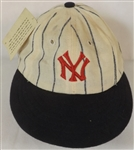 1915-16 STYLE NEW YORK YANKEES CAP ROMAN COOPERSTOWN COLLECTION