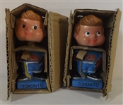 --(2) 1960S TORONTO REDWINGS AAA BOBBLEHEADS