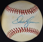 DAVE KINGMAN SIGNED ONL FEENEY BASEBALL SWEET SPOT JSA