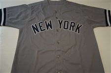 LEE SMITH SIGNED NEW YORK YANKEES JERSEY LEAF AUTHENTICS