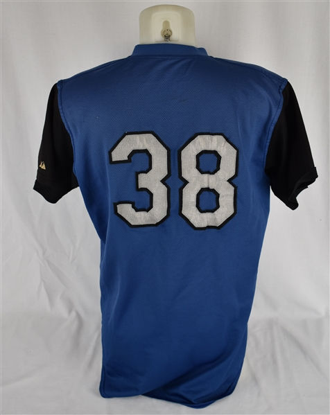 ABERDEEN IRONBIRDS (BALTIMORE ORIOLES ML) #38 GAME USED JERSEY