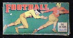 "--1930s WHITMAN PUBLISHING FOOTBALL BOARD GAME ""CALL THE PLAYS YOURSELF"""