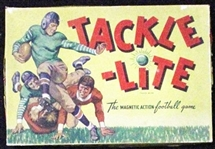 --VINTAGE TACKLE-LITE MAGNETIC ACTION FOOTBALL GAME