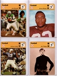 "--1977-79 SPORTSCASTER ""FOOTBALL"" LOT OF (11) NAMATH BROWN UNITAS & MORE"