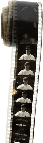 1940'S JOE DIMAGGIO FILM FROM THE DIMAGGIO COLLECTION / ESTATE
