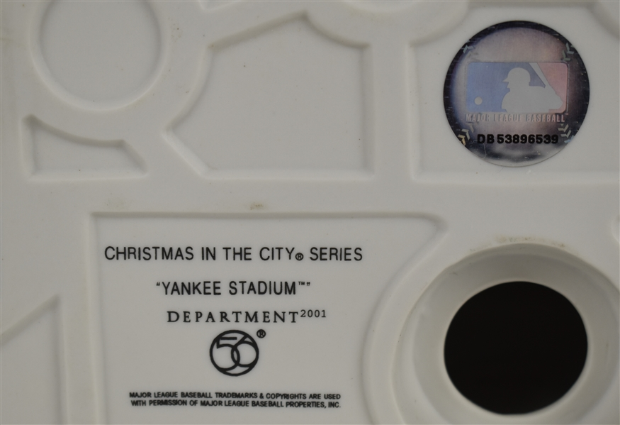 NEW YORK YANKEES STADIUM DEPT. 56 CHRISTMAS IN THE CITY